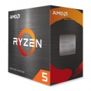 AMD Ryzen 5 5600X CPU with Wraith Stealth Cooler, AM4, 3.7GHz (4.6 Turbo), 6-Core, 65W, 35MB Cache, 7nm, 5th Gen, No Graphics