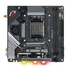 Asrock Z490 PHANTOM GAMING-ITX/TB3, Intel Z490, 1200, Mini ITX, 2 DDR4, HDMI, DP, AX Wi-Fi, 2.5G LAN, RGB Lighting, Thunderbolt3, M.2