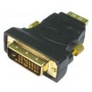 Modula DVI-D Male to HDMI Female Converter Dongle