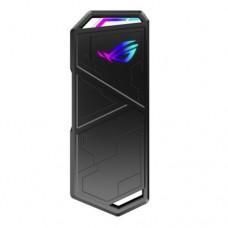 Asus ROG STRIX ARION M.2 NVMe SSD Enclosure, USB 3.2 Gen2 Type-C, Aluminium, Thermal Pads, RGB Lighting