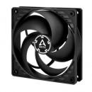Arctic P12 Pressure Optimised 12cm Case Fan, Black, Fluid Dynamic, 6 Year Warranty