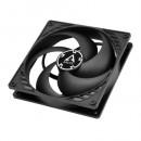 Arctic P14 Pressure Optimised 14cm Case Fan, Black, Fluid Dynamic, 6 Year Warranty