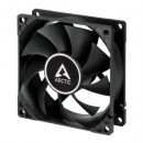 Arctic F8 8cm Case Fan, Black, 9 Blades, Fluid Dynamic, 6 Year Warranty