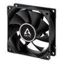 Arctic F8 Silent 8cm Case Fan, Black, 9 Blades, Fluid Dynamic, 6 Year Warranty