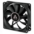 Arctic F9 9.2cm Case Fan, Black, 9 Blades, Fluid Dynamic, 6 Year Warranty