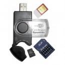 Dynamode (USB-CR-31) External Sim & Memory Card Reader, USB 2.0, USB Powered