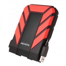 "ADATA 1TB HD710 Pro Rugged External Hard Drive, 2.5"", USB 3.1, IP68 Water/Dust Proof, Shock Proof, Red"