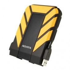 "ADATA 1TB HD710 Pro Rugged External Hard Drive, 2.5"", USB 3.1, IP68 Water/Dust Proof, Shock Proof, Yellow"
