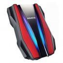 "ADATA HD770G 1TB RGB External Hard Drive, 2.5"", USB 3.2 Gen1, IP68, Military-Grade Tough, AES 256-bit Encryption, Red"