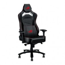 Asus ROG Chariot Core Gaming Chair, Racing-Car Style, Steel Frame, PU Leather, Memory-Foam Lumbar, 4D Armrests, 145° Recline,  Tilt & Class 4 Gas Lift