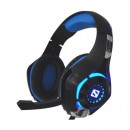 Sandberg Twister Gaming Headset, 40mm Drivers, Comfortable Padding, 3.5mm Jack, LED Lighting, 5 Year Warranty