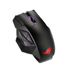 Asus ROG Spatha X Gaming Mouse, Wired/Wireless, 19,000 DPI, 12 Programmable Buttons, RGB LED