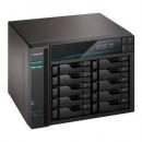 ASUSTOR AS7110T Lockerstor 10-Bay NAS Enclosure (No Drives), Xeon E-2224, 8GB DDR4, USB 3.2, 10G LAN, 3 x 2.5G LAN, 2 x M.2 NVMe