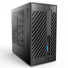 Asrock DeskMini 300 Barebone PC, Mini STX, AMD AM4, 2 x DDR4 SO-DIMM, SATA, M.2, VGA, HDMI, DP - No CPU, RAM, HDD or O/S