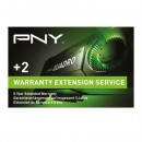 PNY Warranty Extension with Advanced Replacement - from 3 Years to 5 Years -  for RTX5000, TESLA M10, TELA P4 & TESLA T4 Graphics Cards - Upgrade details via email