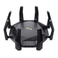 Asus (RT-AX89X) AX6000 Wireless Dual Band Router, 12-stream, MU-MIMO & OFDMA, AiMesh, Dual 10G Ports, SFP+, USB, Lifetime Free Internet Security
