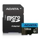 ADATA 128GB Premier Micro SDXC Card with SD Adapter, UHS-I Class 10 with A1 App Performance