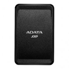 ADATA SC685 2TB External SSD, USB-C (USB-A Adapter), 3D NAND, Windows/Mac/Android Compatible, Black