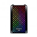 ADATA SE900G 512GB External RGB SSD, USB 3.2 Gen2x2 Type-C (USB-A Adapter), R/W 2000/2000 MB/s, Windows/Mac/Android Compatible