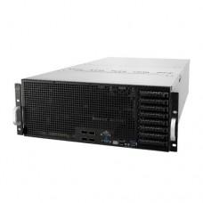 Asus (ESC8000 G4) 4U High-Density GPU Barebone Server, Intel C621, Dual Socket 3647, Supports 8 GPUs, Dual GB LAN, 8 Bay Hot-Swap, 2+1 1600W Platinum PSU