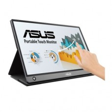 """Asus 15.6"""" Portable IPS Touchscreen Monitor (ZenScreen MB16AMT), 1920 x 1080, USB-C/micro-HDMI, 7800mAh Battery, Auto-rotatable, Hybrid Signal, Smart Case Stand"""