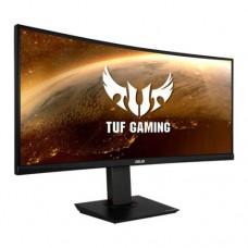 "Asus 35"" TUF Gaming WQHD Ultra-wide Curved Gaming Monitor (VG35VQ), 3440 x 1440, 1ms, 100Hz, 100% sRGB, 2 HDMI, DP, VESA"