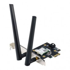 Asus (PCE-AX3000) AX3000 (2402+574) Wireless Dual Band PCI Express Adapter, Bluetooth 5.0,  WPA3, OFDMA & MU-MIMO