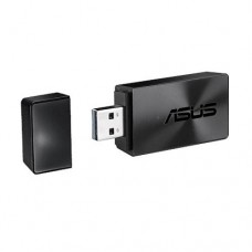 Asus (USB-AC54 B1) AC1300 (867+300) Wireless Dual Band USB Adapter, MU-MIMO, 256QAM, USB3