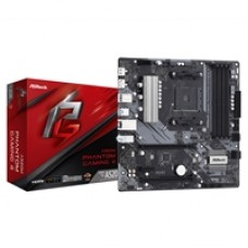 ASRock A520M Phantom Gaming 4 AMD Socket AM4 HDMI/DIsplayPort Micro ATX USB 3.2 Gen1 Motherboard