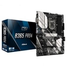 ASRock B365 Pro4 Intel Socket 1151 ATX VGA/DVI-D/HDMI Dual M.2 USB C 3.1 Motherboard