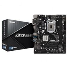 ASRock H310CM-HDV/M.2 Intel Socket 1151 Micro ATX DDR4 VGA/DVI-D/HDMI M.2 USB 3.1 Motherboard