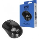 Evo Labs MO-234WBLK Wireless Gloss Black Mouse