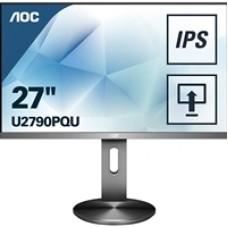 "AOC 4K U2790PQU 27"" Full HD LED Widescreen IPS HDMI/Display Port with USB Hub Monitor"