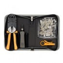 Sprotek 53 Piece Basic Network Tool Kit