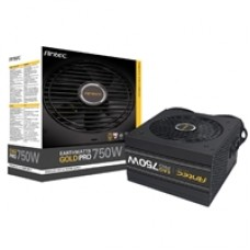 Antec EarthWatts Gold Pro 750W 120mm Silent Fan 80 PLUS Gold Semi Modular PSU
