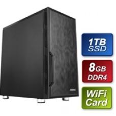 Antec Intel G6400 4.00GHz Dual Core 8GB DDR4 RAM 1TB SSD w Wireless Card Prebuilt System