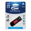 Team C141 8GB USB 2.0 Red USB Flash Drive