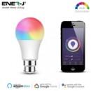 ENER-J Smart WiFi Colour Changing LED Light Bulb 9W