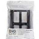 Evo Labs 2.5 INCH to 3.5 INCH Double Internal Drive Bay Adapter, Dual Metal, for 2.5 INCH SSD/HDD