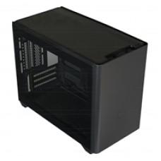 Cooler Master MasterBox NR200P Mini-ITX 2 x USB 3.2 Gen 1 Type-A Tempered Glass Side Window Panel Black Case