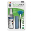 Colorway Multipurpose 3 in 1 Cleaner Set with Microfiber Cloth for Screen and Monitor
