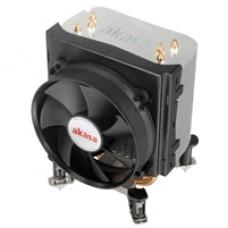 Akasa X4 Universal Socket 92mm PWM 2500RPM Black Fan CPU Cooler