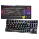 Marvo Scorpion KG901 USB RGB LED Compact Mechanical Gaming Keyboard with Blue Switches