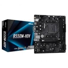 ASRock B550M-HDV AMD Socket AM4 Micro ATX HDMI/VGA/DVI-D M.2 USB 3.2 Gen1 Motherboard