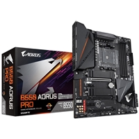 Gigabyte B550 AORUS PRO AMD Socket AM4 ATX HDMI Dual M.2 USB 3.2 C Gen2 Motherboard