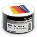 Ritek Traxdata CD-R 52X 600PK (12 x 50) FULL FACE PRINT