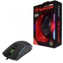 Marvo Scorpion M513 USB RGB LED Black Programmable Gaming Mouse