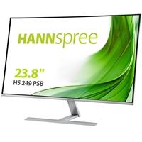 "Hannspree HS249PSB 23.8"" DisplayPort / HDMI / VGA inc Speakers Ultra Slim Widescreen Monitor"
