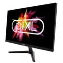 piXL CM24F32 24 Inch Frameless Monitor, LED Widescreen, 5ms Response Time, 60Hz Refresh Rate, Full HD 1920 x 1080, VGA, HDMI, 16.7 Million Colour Support, Black Finish