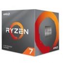 AMD Ryzen 7 3700x 3.6Ghz 8 Core AM4 Overclockable Processor with Wraith Prism Cooler
